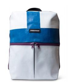 Freitag Freitag Backpack Fringe white/blue/purple