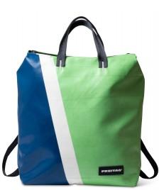 Freitag Freitag Backpack Pete green/blue/white