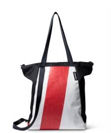 Freitag Freitag ToP Tote Bag Davian black/white/red