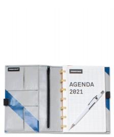 Freitag Freitag Agenda 2021 grey/blue