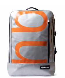 Freitag Freitag Backpack Hazzard silver/orange