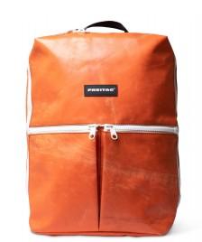 Freitag Freitag Backpack Fringe orange/white