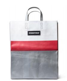 Freitag Freitag Bag Miami Vice silver/red/white