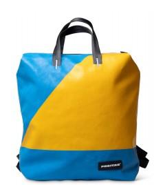 Freitag Freitag Backpack Pete blue/yellow