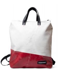 Freitag Freitag Backpack Pete red/white