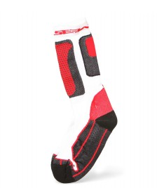 Seba Seba Socks Nano Technology white/red
