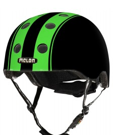 Melon Melon Helmet Double black/green