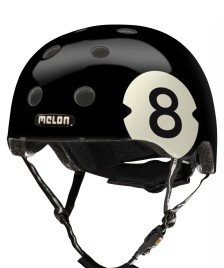 Melon Melon Helmet Ball black/white