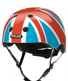 Melon Melon Helmet Junion Jack Sky red/blue/white