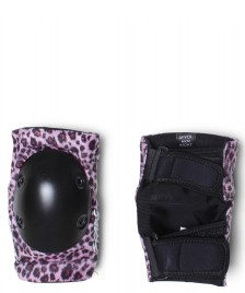 Smith Smith Elbow Pads pink leopard