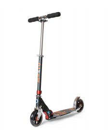 Micro Micro Scooter Speed + black/orange pattern