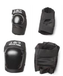 187 Killer 187 Killer Pads Combo Pack black