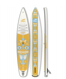 Indiana SUP Indiana SUP 12`6 Touring LTD Inflatable white/yellow