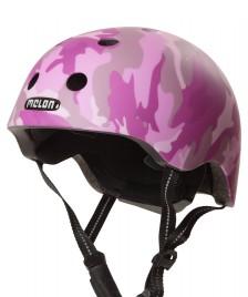 Melon Melon Helmet Camouflage pink/purple