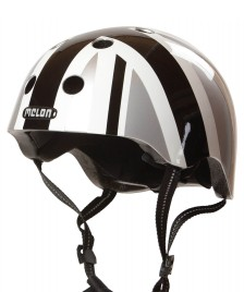 Melon Melon Helmet Union Jack Plain black/white