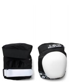 187 Killer 187 Killer Protection Knee Pads Pro white/black
