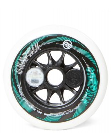 Powerslide Powerslide Wheel Graphix Left 125er white