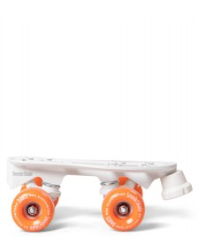 Sneekrskate Sneekrskate Roller Plates DLX white/orange
