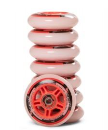 Powerslide Powerslide Wheels One 80er 8-Pack inkl. Kugellager white/red