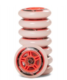 Powerslide Powerslide Wheels One 84er 8-Pack inkl. Kugellager white/red