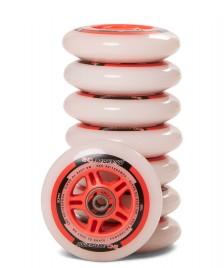 Powerslide Powerslide Wheels One 90er 8-Pack inkl. Kugellager white/red