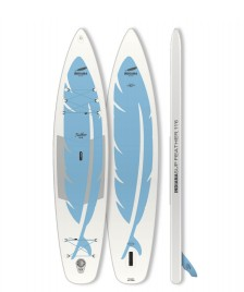 Indiana SUP Indiana SUP 11`6 Feather Inflatable white/aqua