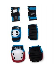187 Killer 187 Killer Kids Protection Pads Pack red/white/blue