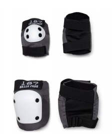 187 Killer 187 Killer Pads Combo Pack white/grey