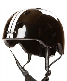 Melon Melon Helmet Straight black/white
