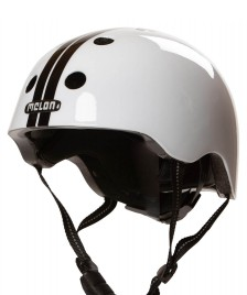 Melon Melon Helmet Straight white/black