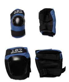 187 Killer 187 Killer Pads Combo Pack blue