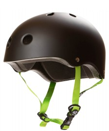 S1 S1 Helmet S1 Lifer black matte green straps