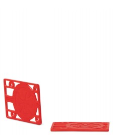 Independent Independent Riser Pads 1/8 red