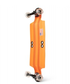 Shiver Shiver Longboard Shark Aluminium orange