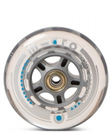 Micro Micro Wheel clear 100er black clear