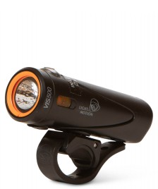 L&M L&M Bike Headlight Vis 500 black onyx