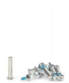 Rollerblade Rollerblade Frame Screws Zetra 9 Pcs silver