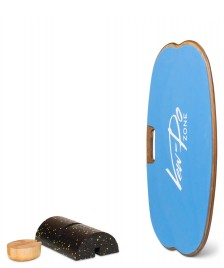 Vew-Do Vew-Do Balanceboard Zone Fitness blue royal tan