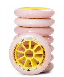 Rollerblade Rollerblade Wheels Hydrogen Pro Firm 110er white/yellow