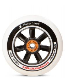 Rollerblade Rollerblade Wheel Hydrogen 100er Inkl. Twincam ILQ-9 Pro Bearings white/black