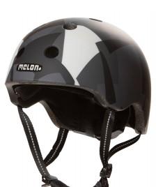 Melon Melon Helmet Black Window black/grey