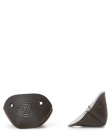Riedell Riedell Accessories Leather Toe Cap black vegan