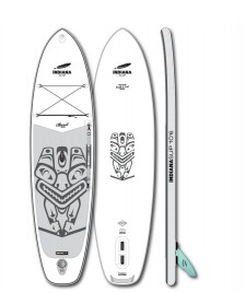 Indiana SUP Indiana SUP 10`6 Allround Inflatable white/grey