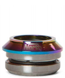 North North Headset Star rainbow oil slick