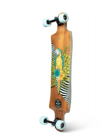 Sector 9 Sector 9 Longboard Faultline Perch brown/yellow