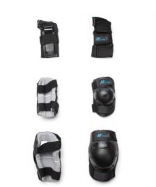 K2 K2 W Protection Prime Set black/blue