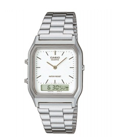Casio Casio Watch AQ-230A silver/white