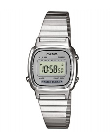 Casio Casio Watch LA670WEA silver/silver