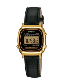 Casio Casio Watch LA670WEGL black/gold