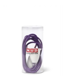 Nud Collection Nud Classic Cord & Socket purple dewberry
